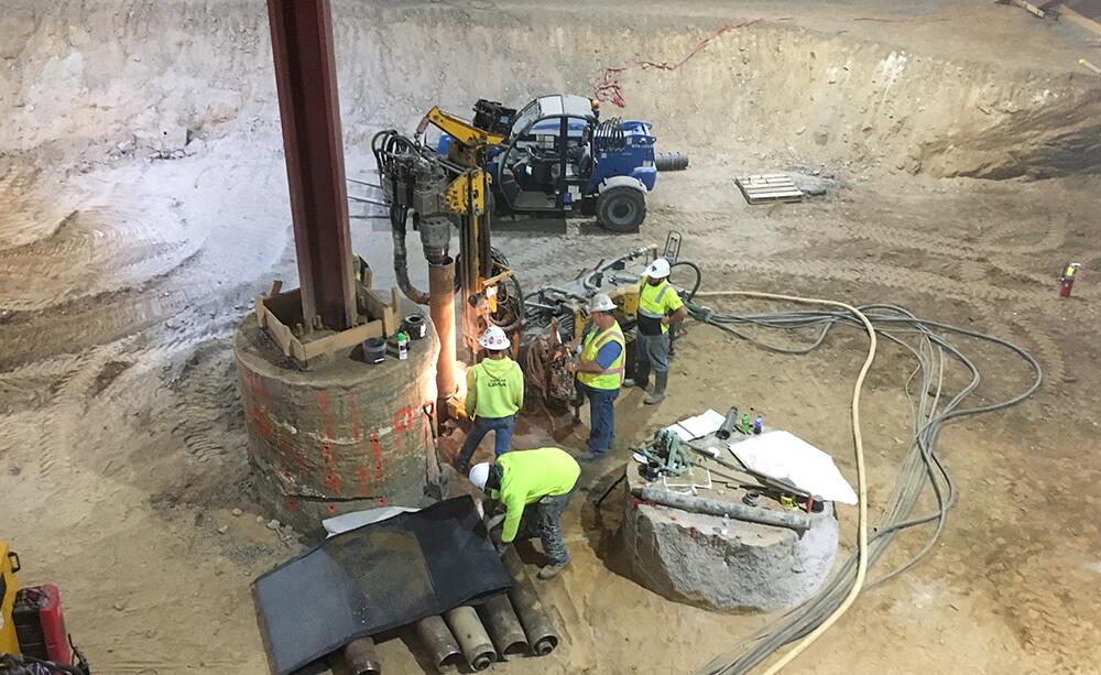 structural support deep foundation solutions