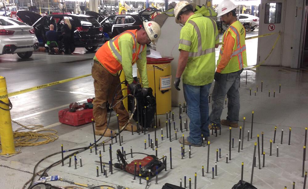 high density polyurethane injection engineers