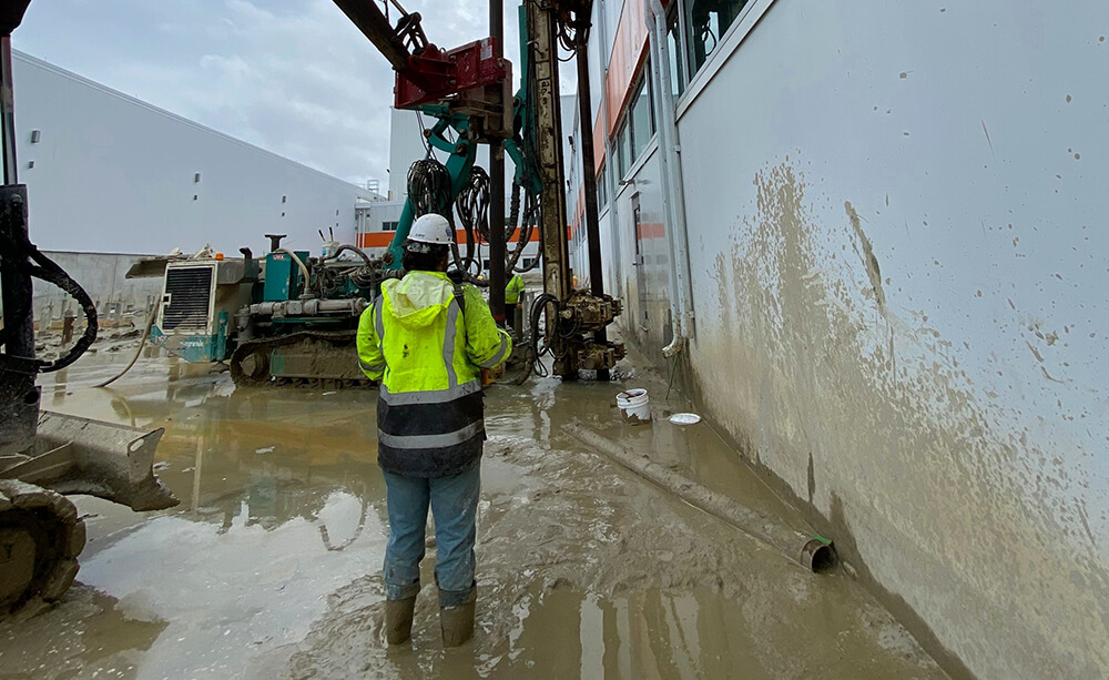 Micropiles Support South Carolina Manufacturing Expansion Featured Image