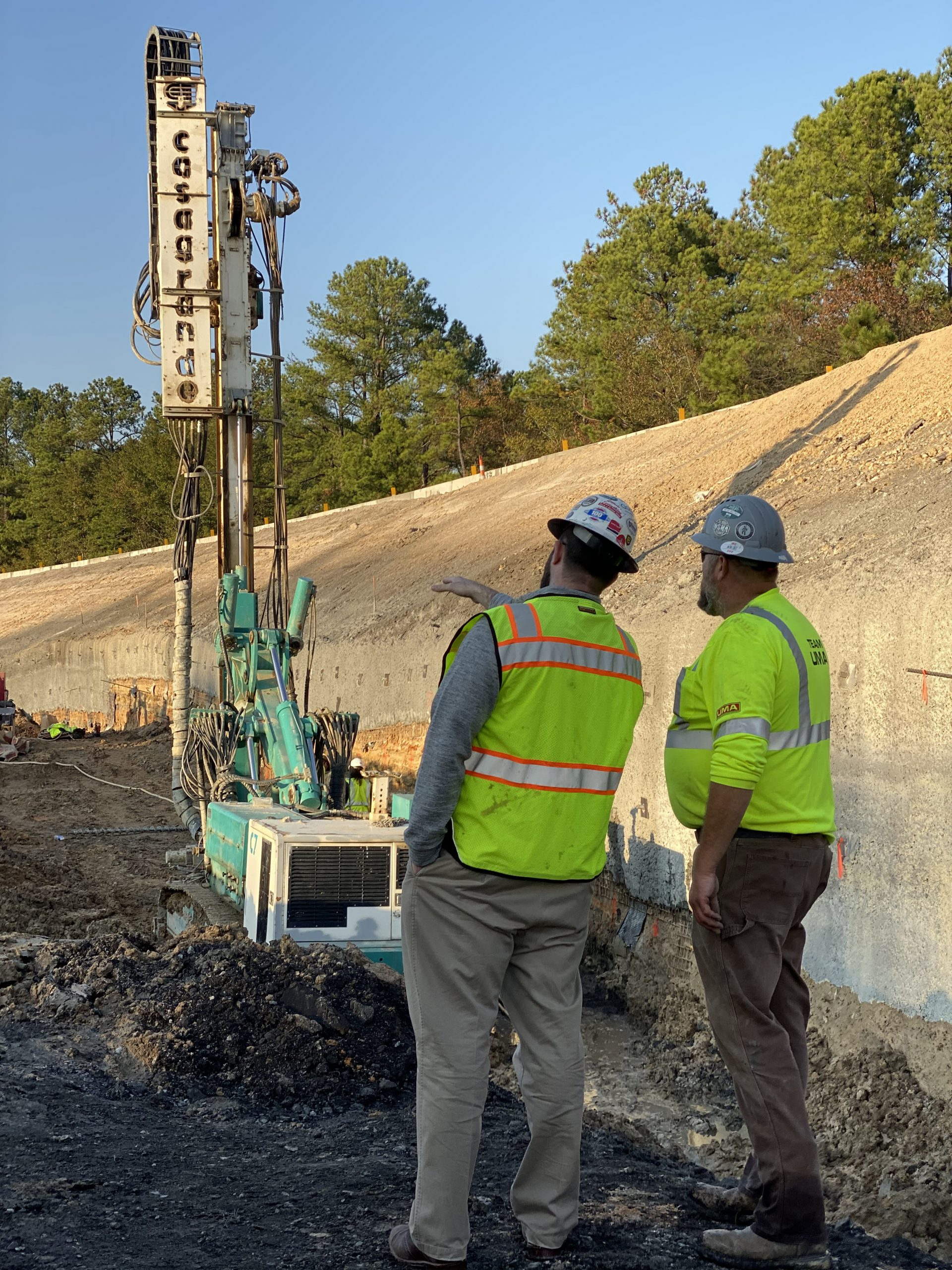 geotechnical contractors working on design build