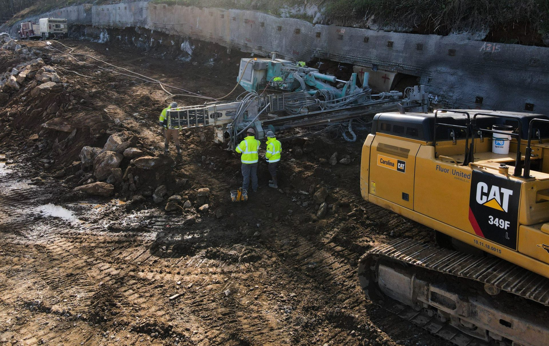 UMA to Break NCDOT Record for Largest Square Footage of Soil Nail Wall Featured Image